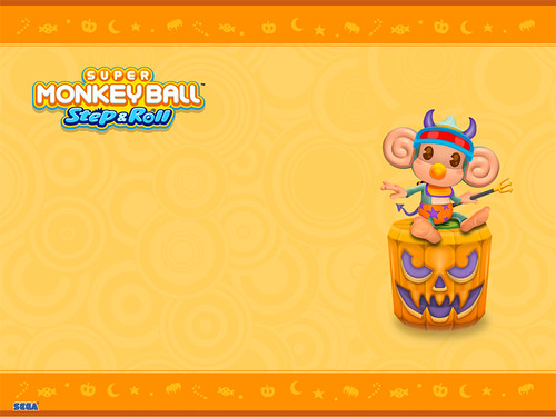 Super Monkey Ball Halloween Wallpaper