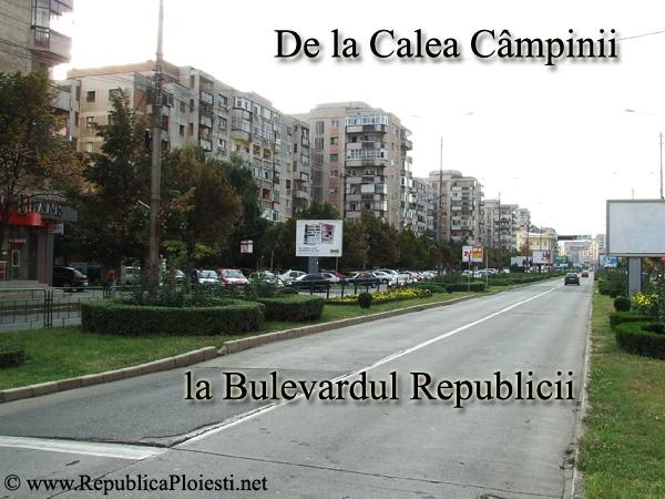 Calea Campinii - Bulevardul Republicii