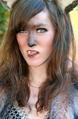 She Wolf (wyojones) Tags: woman girl beautiful beauty face look animal festival tongue mouth eyes skins wolf texas expression lips trf bite faire renfaire brunette renaissancefestival fangs facepaint renaissance renaissancefaire renfest element chainmail rennie shewolf texasrenfest texasrenaissancefestival plantersville animalskins wolfwoman toddmission toddmissiontexas wyojones elementofair