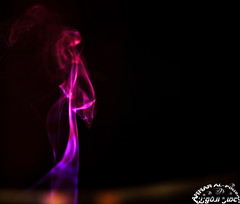 Is it a smoky elegant lady? (Ammar Al-Fouzan) Tags: smoke inscent smokepatterns smokeart ammaralfouzan canon5dmarkii canonef50mmf12lusmlens inscentsmoke