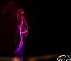 Is it a smoky elegant lady? (Ammar Al-Fouzan) Tags: smoke inscent smokepatterns smokeart ammaralfouzan canon5dmarkii canonef50mmf12lusmlens inscentsmoke
