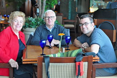 Mom, Dad, and Derek at Fairmont YVR