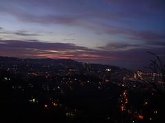 Sunset (pohuman) Tags: city blue sunset red sea sky orange mountain mountains yellow night clouds lights ericsson sony turkiye blacksea karadeniz deniz bulutlar mavi gkyz da rize gece sar dalar krmz turuncu ehir iklar k850i k850 amlbel pohuman