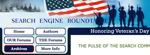 Veterans Day at SERoundtable.com