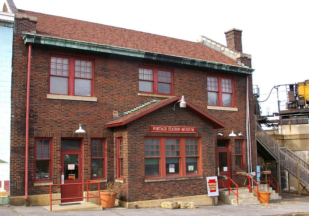 Portage, PA train station