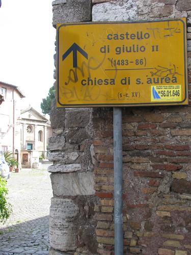 Civis Romanus Sum Il Borghetto Di Gregoriopoli E Il Castello Di Giulio Ii A Ostia Antica