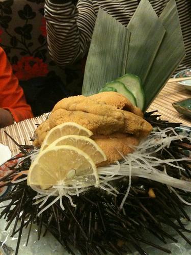 Live Sea Urchin (Uni)