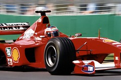 Rubens Barrichello (.Stupix) Tags: 2000 australian grand ferrari victoria prix 35mmfilm marlboro formula1 rubens scuderia albertpark barrichello pentaxmx