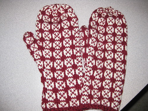 Fox and Geese mitts