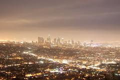 ロスの夜景