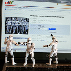 Stop drooling and get back to work!! (...Ashish...) Tags: female canon movie rebel starwars funny ebay scifi stormtrooper 24mm homage hasbro clonetrooper maytheforcebewithyou xti maythe4th stormtrooper365 maythefourthbewithme
