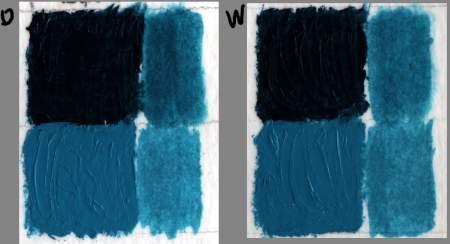 Holbein DUO Lightfast Test 4142129370_59d3c6d552_o