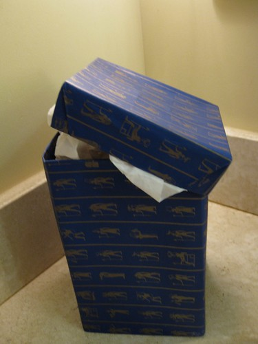 How can you resist a present gift-wrapped in hieroglyphics paper?