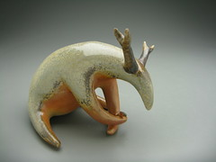 Forest Spirit (Eva Funderburgh) Tags: sculpture art ceramics clay porcelain woodfire