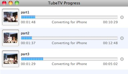 TubeTV Progress - Converting Ustream videos