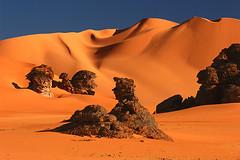 Petrified Meeting (hapulcu) Tags: sahara algeria algerie argelia dz tadrart djanet anawesomeshot illizi