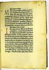 Coloured initials in Mirabilia Puteolorum: De mirabilibus Puteolorum et de balneis ibidem existentibus