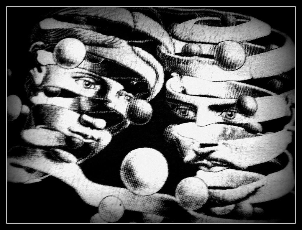 Day 297 - M C Escher T