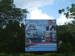 Presidential billboards