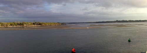 Hayes Inlet from the Hornibrook Bridge