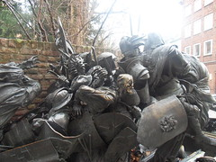 Battle of Worringen statue