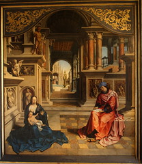 Jan GOSSAERT called MABUSSE, St. Luke drawing the Virgin (Ondra Havala) Tags: wood art history museum canon painting gallery prague jan drawing luke sigma galerie virgin exposition national frame painter oil highiso olej malba noisereduction 2470 sternberg palc 40d gossaert canon40d ternbersk