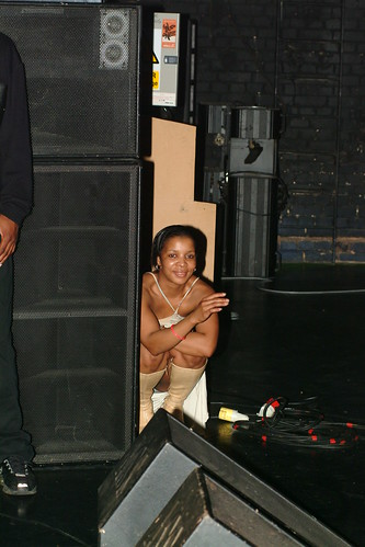 Girl showing her panties