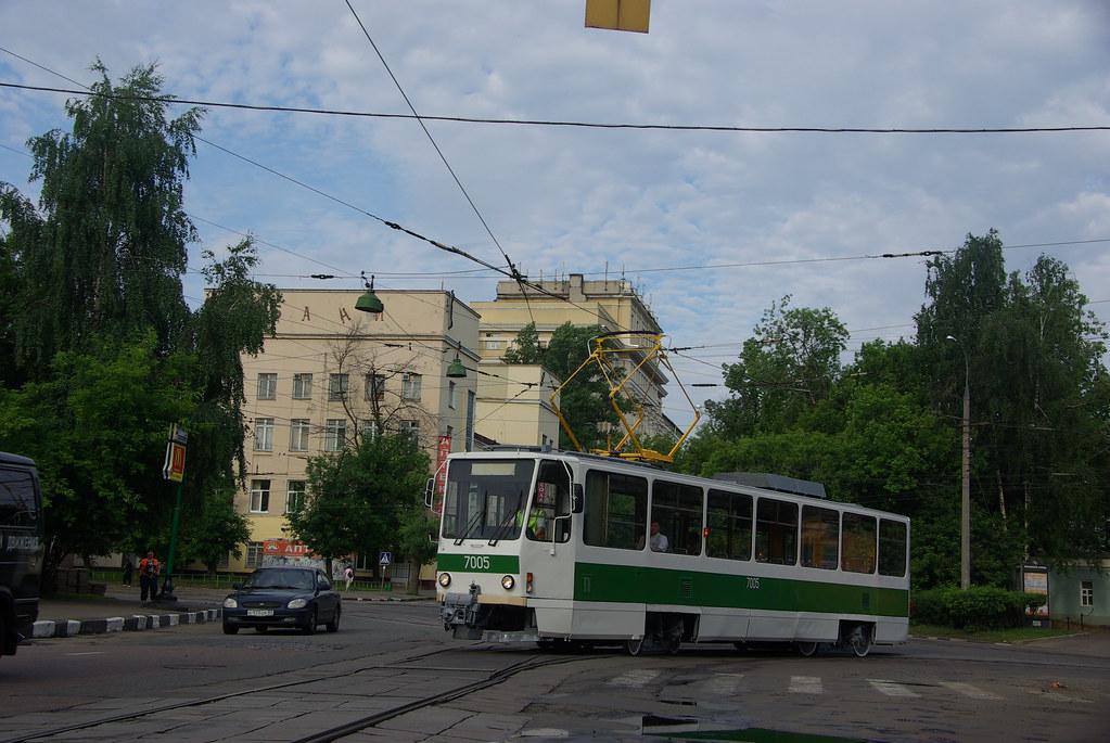 фото: Moscow tram Tatra T7B5SU 7005  _20090613_154