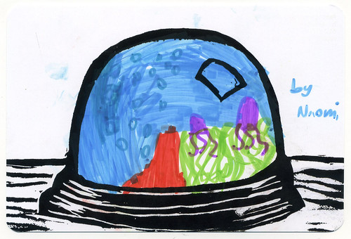 Draw your own snowglobe