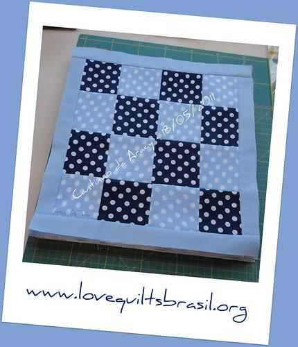 Série de bloquinhos de patch para o Love Quilts Brasil by Cantinho da Aracy