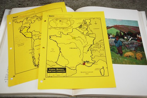 gauguin notebooking maps