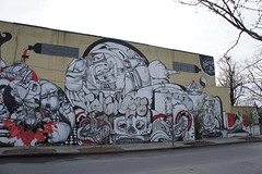 TATS Cru NYC (STEAM156) Tags: street nyc streetart art graffiti travels photos murals bio places trains kings how walls nicer tats tatscru nosm bg183 themuralkings hownosm steam156