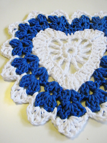 Heart Dish Cloth