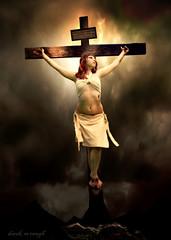 cruci-fiction (derek raugh) Tags: model cross crucifixion crucify derekraugh