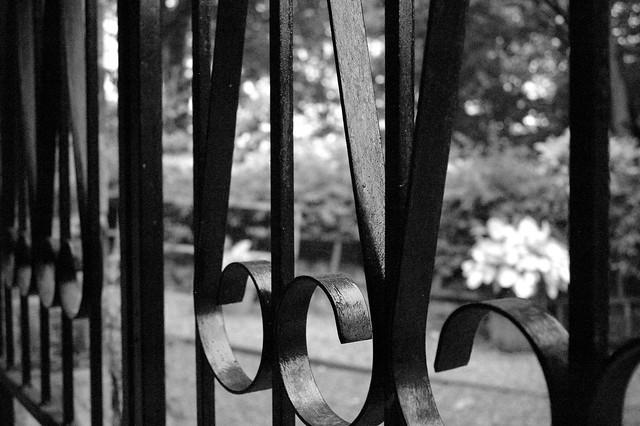 Gate (B&W)