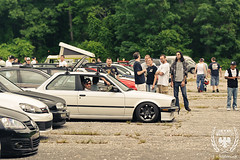 _JDS6387 (Jon Schusteritsch) Tags: car june nikon euro low crowd bbq stretch poke bmw modified flush dope custom sunkenmeadow sick carshow e30 slammed stance tuck gtg eem 2011 nikkor70200mmf28vr d700 eemilitia eembbq