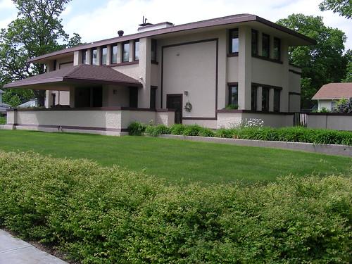Frank Lloyd Wright - Harvey P. Sutton House - McCook NE - paws22