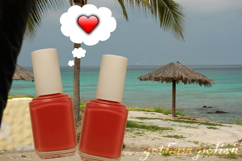 Aruba Essie Your Hut or Mine