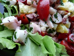 insalat pomodorini patate polpo 3
