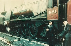 Rugby Midland Shed... (rugd1022) Tags: br pacific rugby shed william class sir midland 2a coronation lms lmr frs ivatt stanier 46256