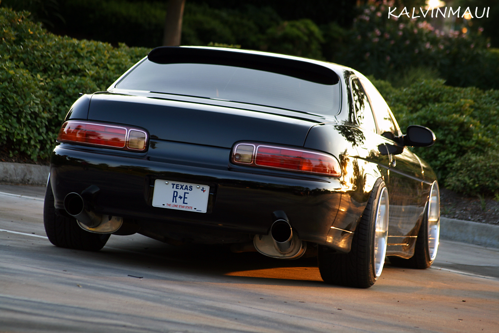Lexus SC300: Black Beauty