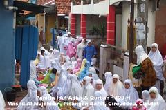 Pelaksanaan Shalat Idul Adha dan Pemotongan Hewan Qurban di Masjid Al-Mujahidin
