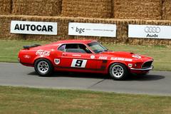 Allan Moffat Racing Ford Mustang Boss 302 (Marc Sayce) Tags: boss ford car festival speed allan 1971 team cola australian racing 1970 mustang 1972 coca 2009 touring goodwood 302 moffat