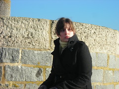 errr... (Phantom_snapper) Tags: ocean blue sea vacation england sky holiday english stone wall seaside lizzie lyme regis