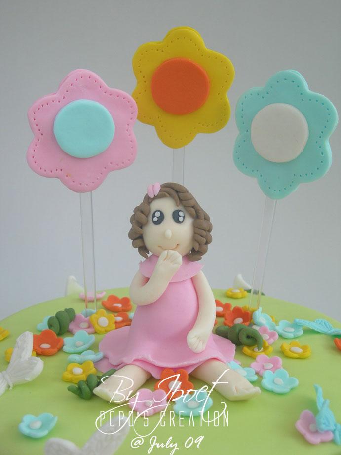 Girl Cake for Aisyah