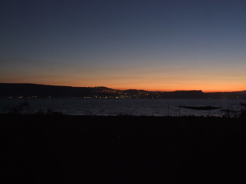 Sunset Over Tiberias