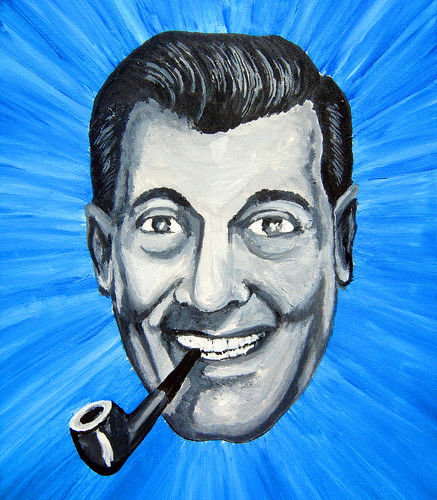 20090704 - X-Day - GEDC0305 - Wilhelm's Bob Dobbs painting - please click through to leave a comment on FlickR