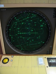Radar Console (wka) Tags: uk england buckinghamshire console radar trackball bletchleypark bletchley nationalcodescentre nationalmuseumofcomputing nationalcodescentreuk dopplr:trip=765014