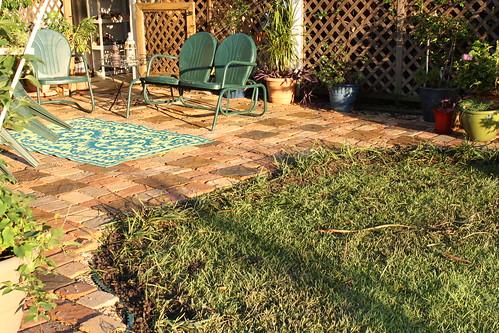 patio re-do