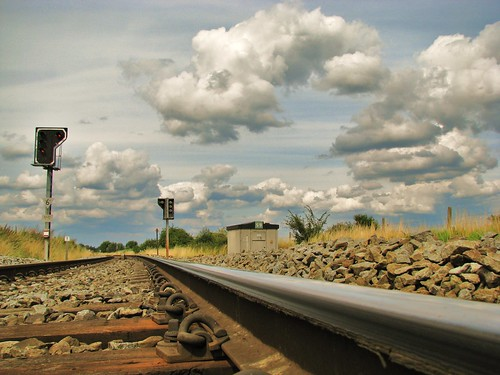 Railway Zingem Belgium